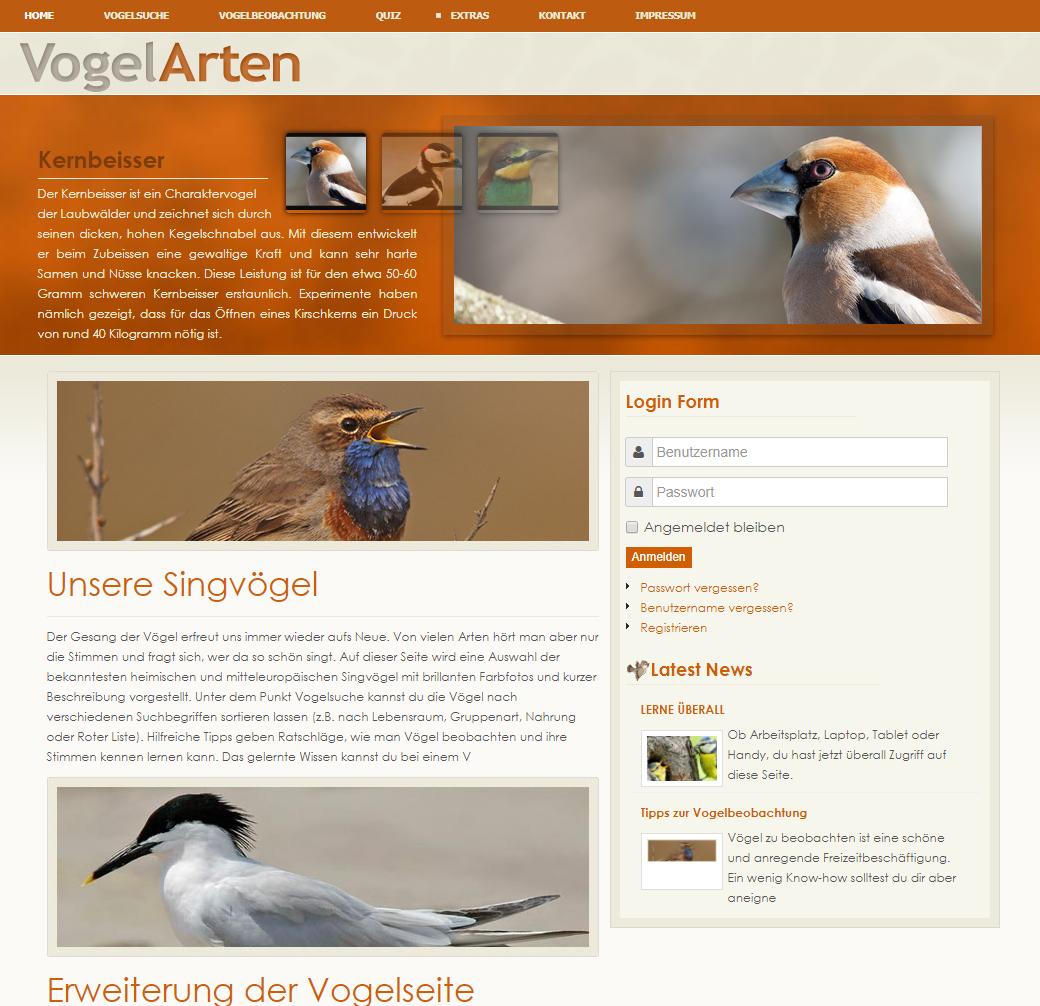 webentwicklung-vogelarten